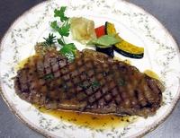 ランチAコース黒毛和牛サービスステーキ