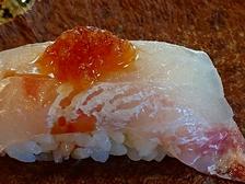 桜鯛の寿司!